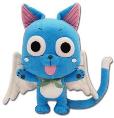 """It's cute.... don't hate  Great Eastern GE-6968 Animation Official Fairy Tail Anime Happy 8"""" Plush Great Eastern,http://www.amazon.com/dp/B008MVJO9M/ref=cm_sw_r_pi_dp_O7DQsb1BCNDAEVKE"""