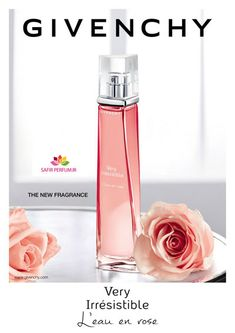 Givenchy Very Irresistible L'eau en rose. Perfume Rose, Perfume Hermes, Perfume Body Spray, Perfume Scents, Perfume And Cologne, Perfume Bottles, Clinique Perfume, Mascara, Perfume Collection