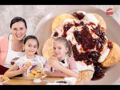 PAPANASI FARA GLUTEN LA CUPTOR - O nebunie de gust #papanasi #faragluten #abyblajan - YouTube Sin Gluten, Gluten Free Recipes, Healthy Recipes, Free Food, Waffles, Ice Cream, Meals, Breakfast, Desserts
