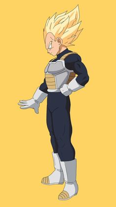 Super Saiyan Vegeta (New Movie)