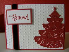 Cupcakes, Cards and Kim: The 12 Kits of Chrismas - January Challenge Christmas Time, Christmas Crafts, Christmas Ideas, Christmas Challenge, Thing 1 Thing 2, Diy Cards, Beautiful World, January, Challenges
