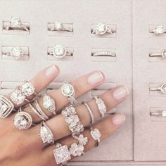 diamond rings, choices