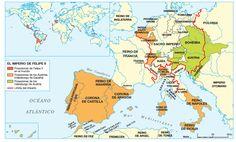 El Imperio de Felipe II.