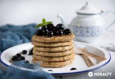 Amerikai zabpalacsinta | NOSALTY Waffles, Pancakes, Health Eating, Healthy Snacks, Paleo, Food And Drink, Health Fitness, Vegetarian, Diet