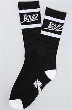 BLVD Supply The Stripe Socks Black