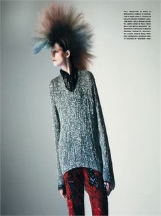 From Spring Summer 2013 Collections: New Grunge - click on the photo to see all garments and accessories in Photogallery