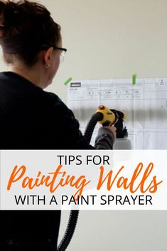 As an avid DIY'er, you've likely considered adding a paint sprayer to your arsenal. They are fabulous tools: painting a wall or a piece of furniture is a snap,… Painting Stripes On Walls, Paint Stripes, Paint Walls, Lighted Canvas, Diy Canvas, Wall Paint Treatments, Using A Paint Sprayer, Brick Paneling, Shabby Chic Painting