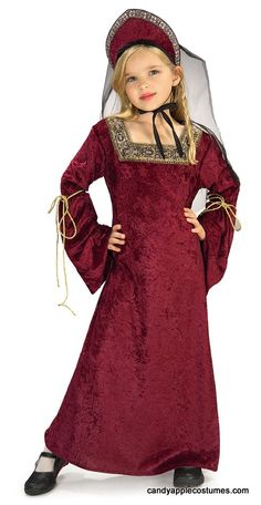 Child's Lady of the Palace Costume - Candy Apple Costumes - Girls' Costumes