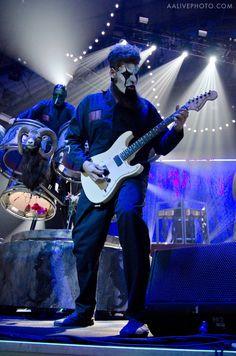 Chris Fehn and James Root Heavy Metal Music, Heavy Metal Bands, Slipknot Band, Slipknot Corey Taylor, Craig Jones, Mick Thomson, Chris Fehn, Sid Wilson, Paul Gray