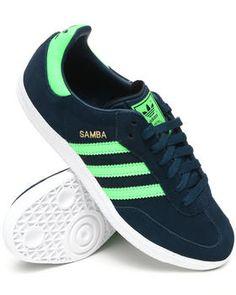 adidas samba (black 1 / bas - verde / giallo g48120 sha)