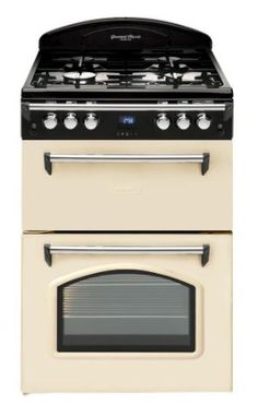 Leisure GRB6GVC Gas Cooker Free Standing Cream: Amazon.co.uk: Large Appliances