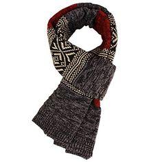 f45571351e46 Écharpe pour femme homme en laine écharpe de polychromie hiver artéfact  essentiel écharpe épais
