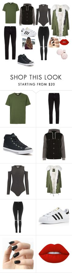 """WINTER WINNER"" by reka15 on Polyvore featuring Oliver Spencer, Frame, Converse, River Island, Miss Selfridge, Mr & Mrs Italy, Topshop, adidas, Incoco and Lime Crime"