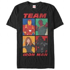 Team Iron Man T Shirts, Hoodies. Check price ==► https://www.sunfrog.com/Movies/Team-Iron-Man-119071981-Guys.html?41382