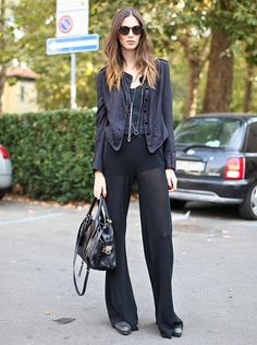 Sheer pants are dope
