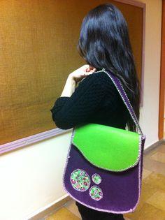 keçe çanta/ felt bag