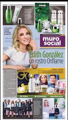 Oriflame en el periódico Reforma, publicación 12 abril 2015.