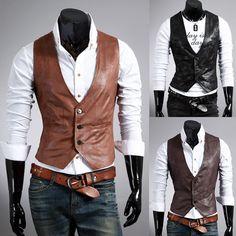 Mens Vest Fashion Casual