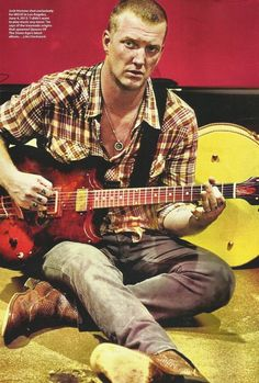 I want to be Tangled Up in Plaid!!!! ;)# Josh Homme #QOTSA