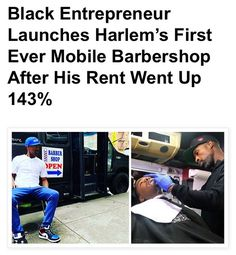 Linwood Dillard, a barbershop owner in Harlem New York City, is one of many business owners that have been affected by gentrification in… Harlem New York, Black Entrepreneurs, Cut My Hair, Fade Haircut, Barbershop, New York City, Men Hair, News, Business