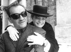 Luchino Visconti & Romy Schneider (1964)