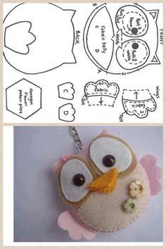 "5d1d72a764ca4845b03146a702b06a30.jpg (640×960) *combine with ""Owl keyring £7.95"""
