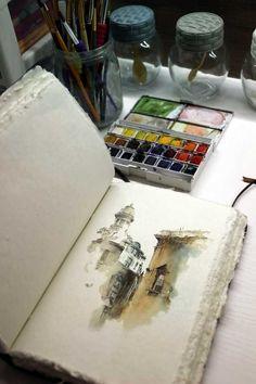 Watercolor. - Imgur #watercolor #watercolorarts