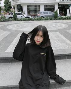 Lấy = Follow #Ẩn Pretty Korean Girls, Cute Korean Girl, Cute Asian Girls, Cute Girls, Ulzzang Short Hair, Korean Short Hair, Ulzzang Korean Girl, Ulzzang Fashion, Korean Fashion