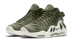 """Nike brings a premium look to a classic sneaker with the release of the Nike Air Max Uptempo 97 """"Urban Haze."""" Get release date info here. Nike Air Max, Date Shoes, Curvy Petite Fashion, New York Fashion, Runway Fashion, Fashion Models, Men's Fashion, Fashion Trends, Discount Nikes"""