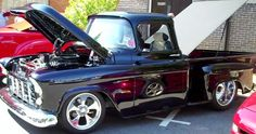 1956 Chevy Pick-Up Street Rod - YouTube