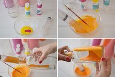 Πώς να φτιάξετε πολύχρωμα βάζα από γυάλινα μπουκάλια!