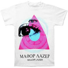 Major Lazer Pyramid Rays Tee