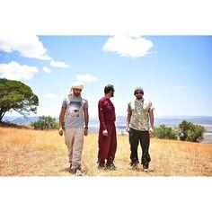Hamdan bin Mohammed bin Rashid Al Maktoum, Mohammed bin Rashid bin Saeed Al Maktoum y Ahmed bin Mohammed bin Rashid Al Maktoum, Tanzania, 28/09/2015. Vía: ahmed_mrm