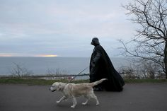   22 Mesmerizing, Mundane Photos Of A Day In The Life Of Darth Vader
