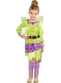 Toddler Girls Tinkerbell Costume - The Pirate Fairy - Party City