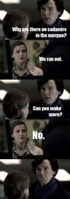 I fell in love with Sherlock in this scene.
