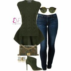 Olive me plz Diva Fashion, Fashion 101, Womens Fashion, Denim Attire, Winter Date Outfits, Types Of Clothing Styles, Daily Wear, Chic Outfits, My Style