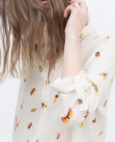 ZARA - WOMAN - PRINTED SHIRT