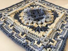 Crochet Yarn, Free Crochet, Crochet Blankets, Crochet Granny, Baby Blankets, Quick Crochet, Afghan Crochet, Crochet Mandala, Crochet Squares