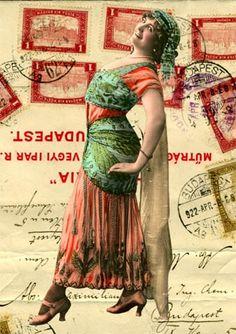 postcard-vintage-Gloria Kovacs-Nickolis