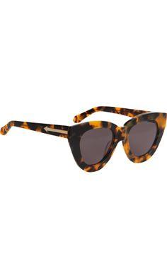 Karen Walker Anytime sunglasses.