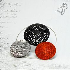 polymer jewelry - Martina Buriánová my technique - Ragstone