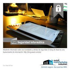Mantente informado sobre las novedades y alertas de #SeguridadInformática. Uno de los mejores lugares es el blog de Avast.