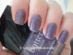"""Butter London's """"No More Waity Katy"""" polish = subtly sparkly :) #nails #manicure"""