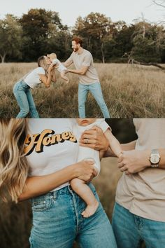 Neutral Family Photos, Newborn Family Pictures, Family Photos What To Wear, Summer Family Pictures, Summer Family Photos, Outdoor Family Photos, Family Pics, Family Posing, Family Photoshoot Ideas