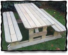 Photo of the Cambridge Picnic Table