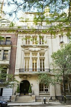 [CasaGiardino] ♛ Townhouses in Manhatton, New York City 57 East 64th St. in Lenox Hill, Manhattan