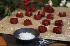 Fyldte Chokolader med salt karamel