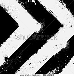 Abstract black and white road background