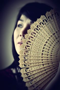 3D Printed Chinese Oriental Folding Fan (No Assembly Required) by paulsiew31.